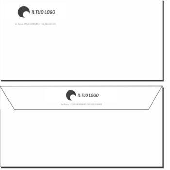 Buste da Lettera – 11×22 – Senza Finestra – Modello 1