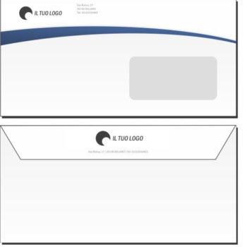 Buste da Lettera – 11×22 – Con Finestra – Modello 2